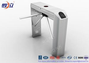 China Pedestrian Control Tripod Turnstile Gate 304 Stainless Steel Housing Material on sale