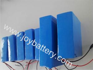 China 48V 12Ah 18650 cell Rechargeable Electric vehicles/bike/ motorcycle/golf trolley battery on sale