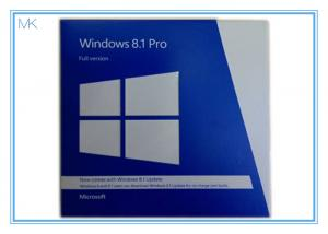 China OEM Package Windows 8.1 Pro 64 Bit With DVD + Key Card Windows 8.1 Full Retail Version on sale