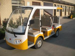 China Eight People 3 KW Low Speed Street Legal Electric Car for University Campus on sale