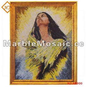 China marble mosaic painting - [Good Quality] China mainland Yunfu HuanJian Stone Ltd. on sale