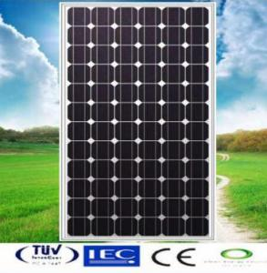 China 150W Mono-crystalline Solar Panel made of 6 inch solar cell on sale