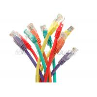 China Unshielded 4 Twisted Pair 3m RJ45 Colorful CAT5E Patch Cord UTP on sale