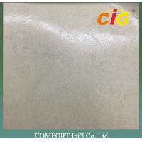 Classical Semi PU Synthetic Leather With Shining Surface 65% PVC + 35% Polyester