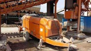 China Used Trailer Mounted concrete pump ZOOMLION Trailer Mounted Concrete Pump on sale