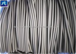 China Dark Grey Rubber Hose Tubing , Medical Grade Surgical Latex Tubing on sale