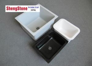 China Durable Epoxy Resin Lab Sinks , Modular Laboratory Furniture Matte Surface on sale