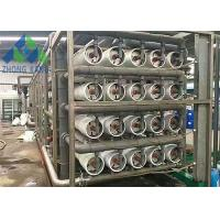 Compact Design High Purity RO Water Treatment Plant With Multi Stage Filtration Unit