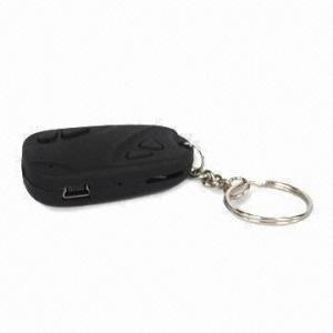 China Mini Car Key Chain Hidden Camera, Digital Video Voice Recorder, Supports SD Card, 720x480 Pixels on sale