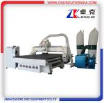 China Woodworking CNC Router with 7.5KW spindle ZK-1525 1500*2500mm