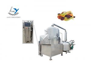 China 100kg Input Automatic Production Line Fruit Vacuum Fryer Equipment Steam / Thermal Oil Heating Low Fat Healthy on sale