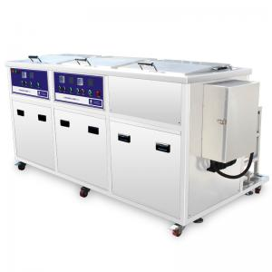 China Large Industrial auto parts Ultrasonic Cleaner Large Capacity, Dual Tanks With Filter and Drying tank on sale