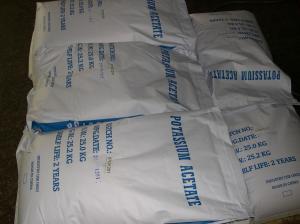 China Food Grade Potassium Acetate on sale