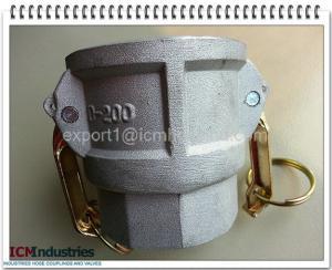 China Aluminium Camlock quick coupling Size 2 Type D on sale
