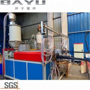 China Recycled Single Screw Extruder Machine for Plastic PA Heat Breaking Strip on sale