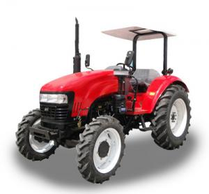 China 75HP 4x4 farm tractor on sale