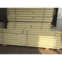 China Quick Frozen Cold Storage Doors 200mm Thickness PU Sandwich Panels For Food Processing on sale
