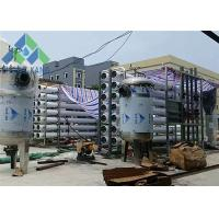 Stainless Steel Commercial Ro Water Purification Systems , RO Water Filter System