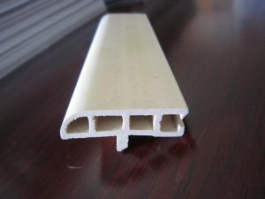 China Internal Wood Plastic Composite WPC Door Jamb , Easy Installation, Green Door Cover on sale