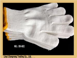 China 10G String Knit Cotton& Polyester Mixed Work Gloves on sale