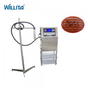 China Food industrial cij batch code expire date inkjet printer egg coding printing machine on sale