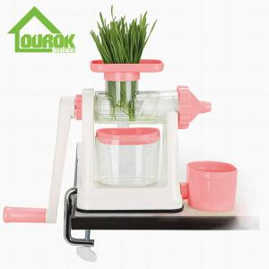 China Placstic Manual Fruit Juicer/fruit squeezer/pomegranate juicer/manual fruit juicer/wheatgrass juicer /manual masticating on sale