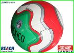 Promotional Rubber Bladder PVC Leather Official Soccer Balls 8.5 Inches