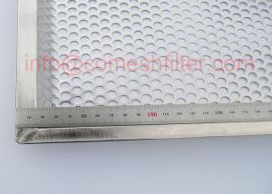 China Fda Stainless Steel Oven Wire Mesh Tray For Fruit Drying Size Custom on sale