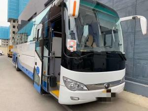 China 48 Seats 2018 Year Second Hand Used Diesel Bus / Super Great Diesel Lhd Coach Bus on sale