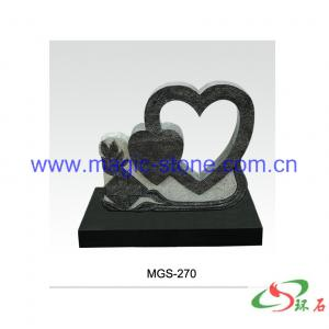 China Double Heart Design Monument on sale