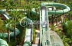 夏の催し物 21m のためのホリデー・リゾートのガラス繊維のスライド水公園/水ジェット コースター