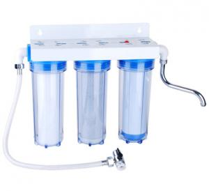 China Kitchen Wall Mounted Under Sink Water Purifier Plastic Material 120 L / H Flow on sale