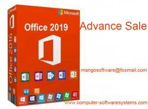China FPP Retail Key Microsoft Office 2019 Professional COA License Sticker on sale