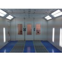 China Pressurized Downdraft Garage Spray Booth Oven Industrial Color Optional on sale