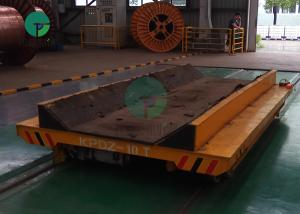 China 10 Ton Steel Billet Coil Transfer Trolley Ladle Transporter Workshop Movable Rail Cart on sale