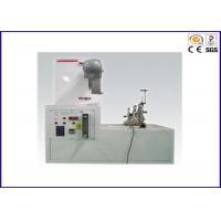Professional Flammability Testing Equipment EN 136 Full Face Masks Flame Resistance Tester