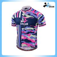 China Factory direct sales Custom dry fit  short sleeves cycling jersey men's on sale