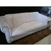 China Contemporary White Fabric Full Size Modular Corner Western Sectional Sofa on sale