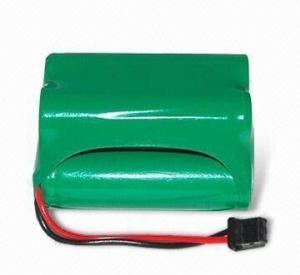 China Skanner Battery Pack NiMH AA 4.8V 2200mAh with Connector on sale