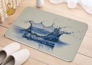 China Printing Anti-Bacterial Absorbent Non Slip Area Rugs , Non Slip Floor Area Mat Rugs on sale