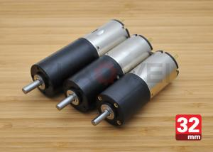 China 12V 32mm OD Low Speed DC Motor Gearbox for Solar Panels , 52rpm Load Speed on sale