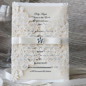 Design lace cut wedding invites cards greeting cards suppliers for quality design lace cut wedding invites cards greeting cards suppliers for sale m4hsunfo