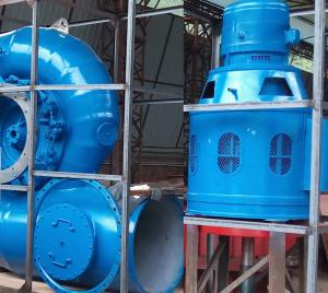 China Low Water Head 60kW Micro Kaplan Turbine Genreator 500r / min 1x1.65m³/s on sale