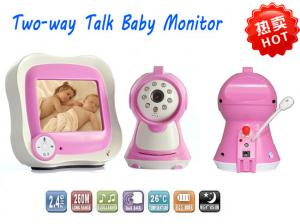 China Microphone 2 Way Talk Digital Wireless Baby Monitor Built - in Rechargeble Battery on sale
