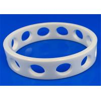 China High Performance Machinable Zirconia Ceramic Rings Insulation 6.0g / cm3 Density on sale