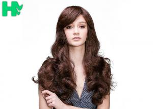 China 24 Inch Big Wavy Curly Hair Long Synthetic Wigs For Black Women 130% Density on sale