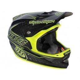 China TROY LEE 2013 D3 Carbon Helmet | PINSTRIPE YELLOW on sale
