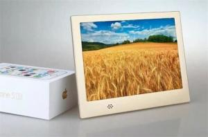 China Auto Play Video Remote Digital Picture Frame, 8 Inch Electronic Picture Frames on sale
