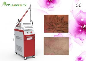 China 1064nm & 532nm & 1320nm Q Switched Nd Yag Laser Tattoo Removal Equipment For Clinic on sale