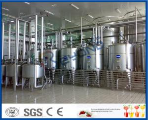 China Full Automatic Industrial Yogurt Making Machine For Dairy Plant Project 2000L - 20000LPH on sale